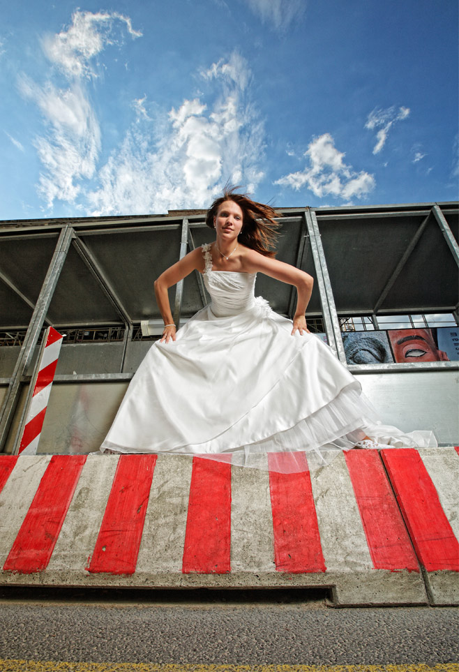Trash-The-Dress mit Annette