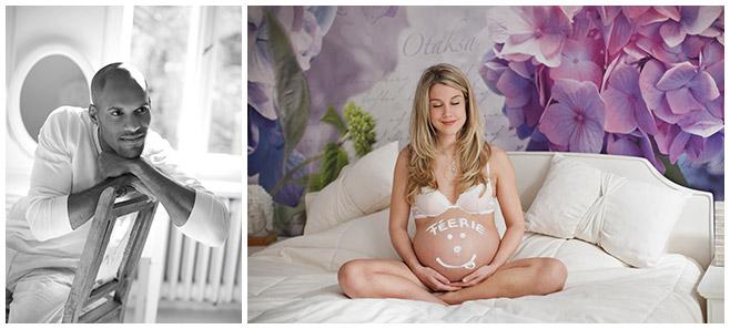 Schwangerschaftsfotos von Berliner Fotostudio