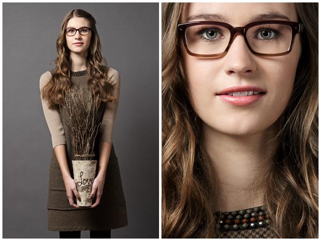 Portraitfotos einer jungen Frau im Fotostudio © Berliner Fotostudio LUMENTIS