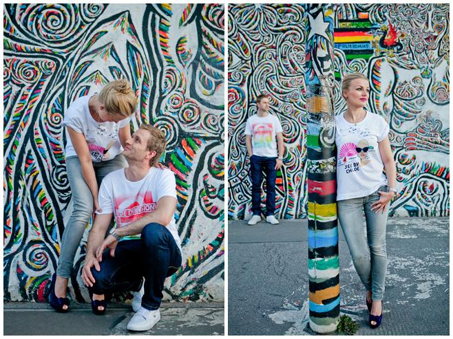 Paarbilder an der East Side Gallery Berlin © Berliner Fotostudio LUMENTIS
