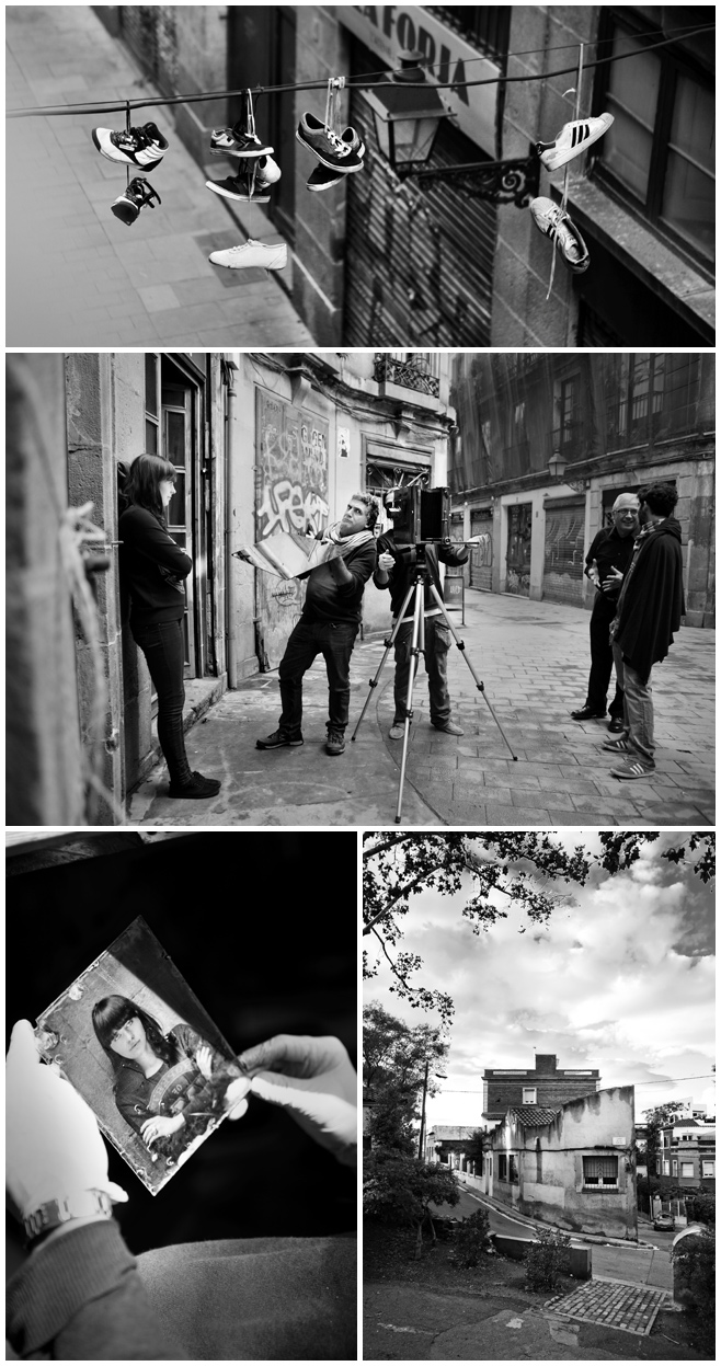 Fotoshooting bei Fotoworkshop im Gotischen Viertel Barcelona  Agentur fr Fotografie fotodesignberlin