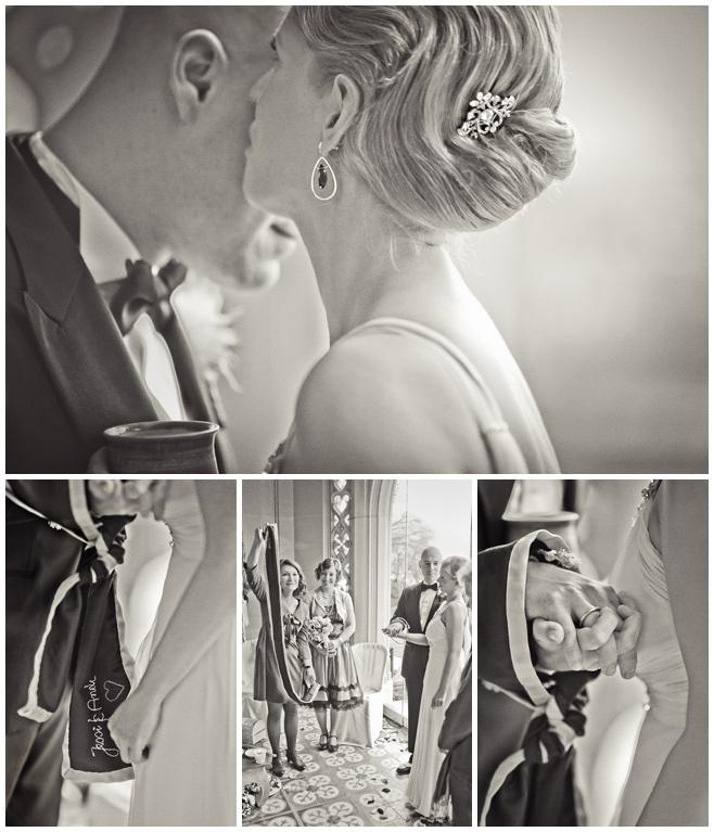 Handfasting während heidnischer Hochzeit © Hochzeitsfotograf Berlin hochzeitslicht