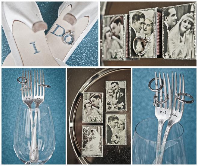 Vintage Dekoration für Hochzeit © Hochzeitsfotograf Berlin hochzeitslicht