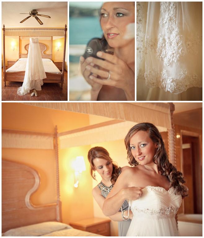 Hochzeitsfotos vom Ankleiden für Hochzeit auf Mallorca © Hochzeitsfotograf Berlin hochzeitslicht