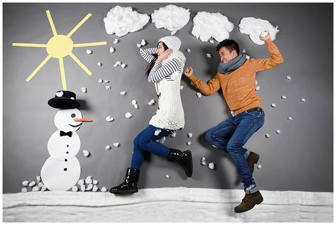 """Paarfoto entstanden bei professionellem Paar-Fotoshooting zum Thema """"Die Vier Jahreszeiten"""" © Berliner Fotostudio LUMENTIS"""