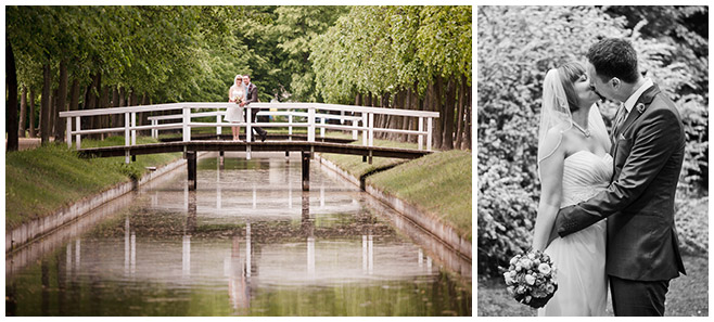 Brautpaarfotos im Tierpark bei Schloss Friedrichsfelde Berlin © Hochzeitsfotograf Berlin hochzeitslicht