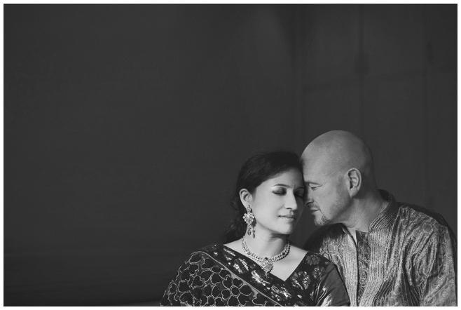 Portraitfoto Brautpaar bei Hochzeit in Hyderabad, Indien © Hochzeitsfotograf Berlin hochzeitslicht