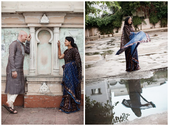 Fotoshooting mit Brautpaar bei Hochzeit in Hyderabad, Indien © Hochzeitsfotograf Berlin hochzeitslicht