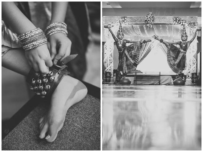 Tänzerinnen bei Hochzeitszeremonie in Indien © Hochzeitsfotograf Berlin hochzeitslicht