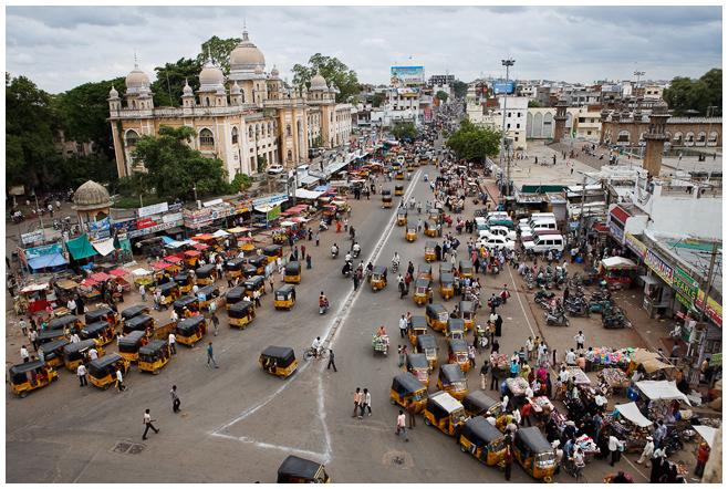 Hochzeit im Zentrum von Hyderabad, Indien © Hochzeitsfotograf Berlin hochzeitslicht