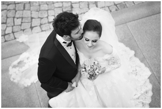 Hochzeitsfotografie von Brautpaar im Vintage-Stil in Berlin © Hochzeitsfotograf Berlin hochzeitslicht
