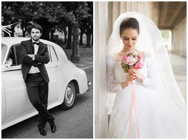 Hochzeitsfotos von Braut und Bräutigam im Vintage-Stil bei Hochzeit in Berlin © Hochzeitsfotograf Berlin hochzeitslicht