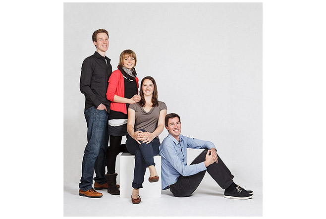 Familienfotos in Berliner Fotostudio © Berliner Fotoatelier LUMENTIS