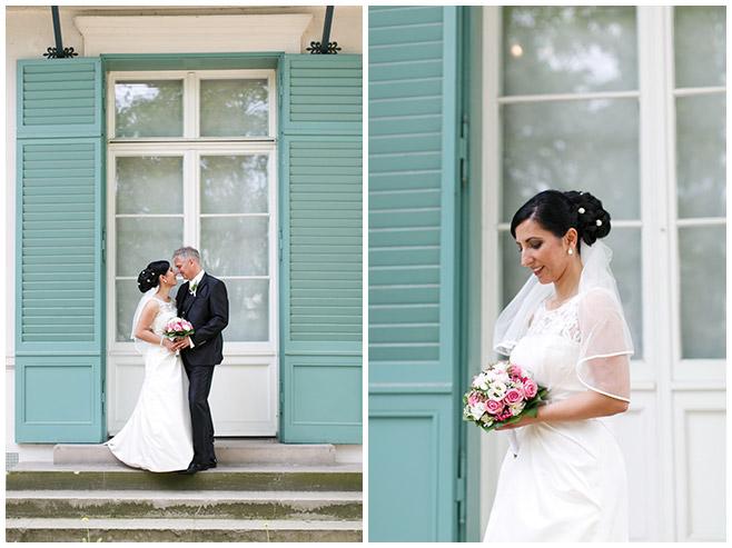 Hochzeitsfoto von Brautpaar aufgenommen von professioneller Hochzeitsfotografin im Schloss Charlottenburg, Berlin © Hochzeitsfotograf Berlin hochzeitslicht