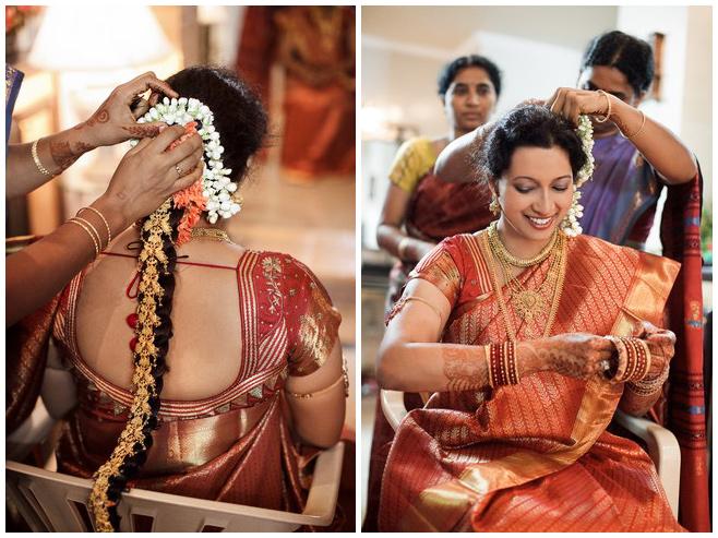 Indische Braut bei den Vorbereitungen auf Hochzeit in Hyderabad, Indien © Hochzeitsfotograf Berlin hochzeitslicht