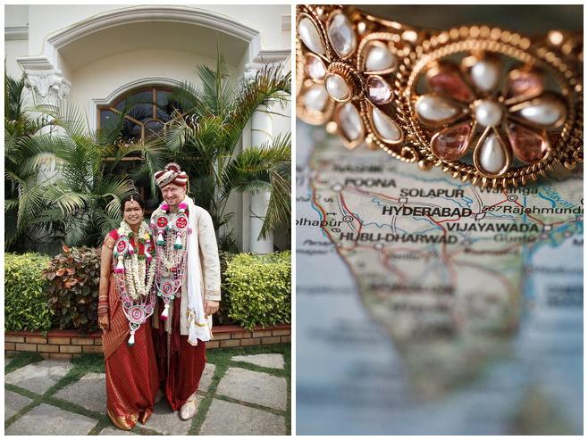 Hochzeitsfoto von Brautpaar bei indischer Hochzeit aufgenommen von Hochzeitsfotografin Melanie Meissner © Hochzeitsfotograf Berlin hochzeitslicht