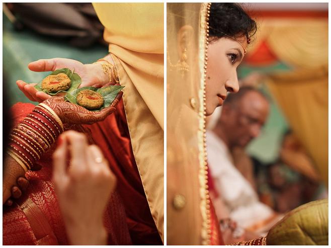 Hochzeitsfotos der Braut bei Pheras in Indien © Hochzeitsfotograf Berlin hochzeitslicht
