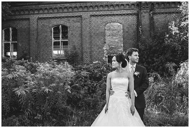 Hochzeitsfoto von Braut und Bräutigam in Potsdam © Hochzeitsfotograf Berlin hochzeitslicht