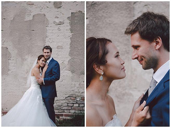 Hochzeitsfotografien von Braut und Bräutigam in Potsdam © Hochzeitsfotograf Berlin hochzeitslicht