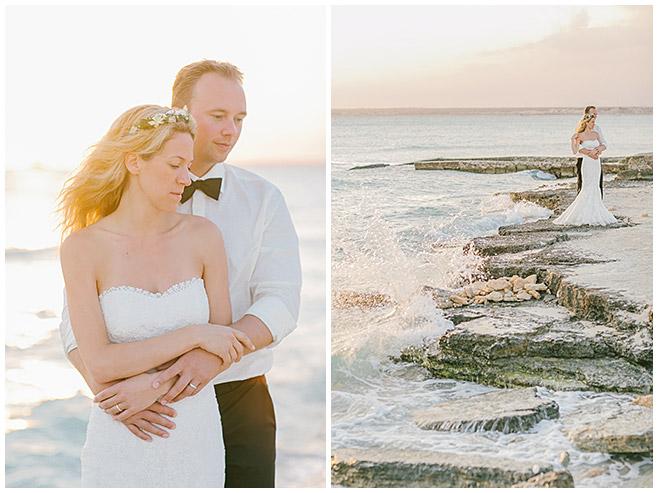 Brautfrisur mit halboffenem Haar für Strandhochzeit auf Mallorca © Hochzeitsfotograf Berlin hochzeitslicht