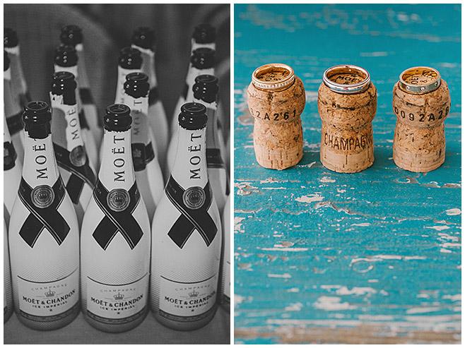 Fotos der Ringe auf Korken von Hochzeit am Strand von Es Trenc © Hochzeitsfotograf Berlin hochzeitslicht