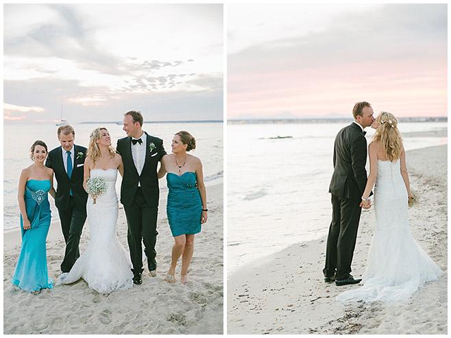 Gruppenfotos und Fotos vom Brautpaar am Strand Es Trenc auf Mallorca © Hochzeitsfotograf Berlin hochzeitslicht