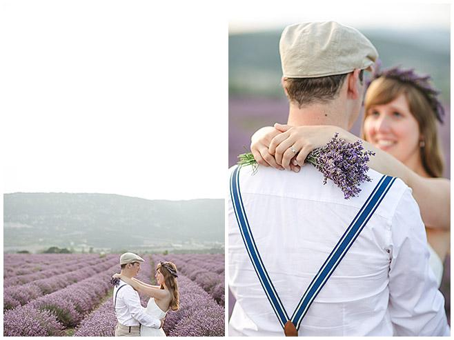 Fotos im Lavendelfeld mit Pärchen in der Provence, Frankreich © Fotostudio Berlin LUMENTIS