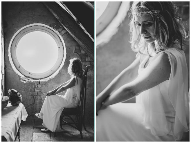 Hochzeitsreportage-Fotos der Braut bei den Vorbereitungen auf Vintage-Hochzeit auf Kultur-Gut Wrechen © Hochzeitsfotograf Berlin hochzeitslicht