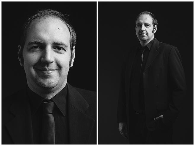 Familienbilder in Schwarz-Weiß von einem Bruder bei Familienfotoshooting im Stil der Beatles durch Berliner Familienfotografin © Fotostudio Berlin LUMENTIS
