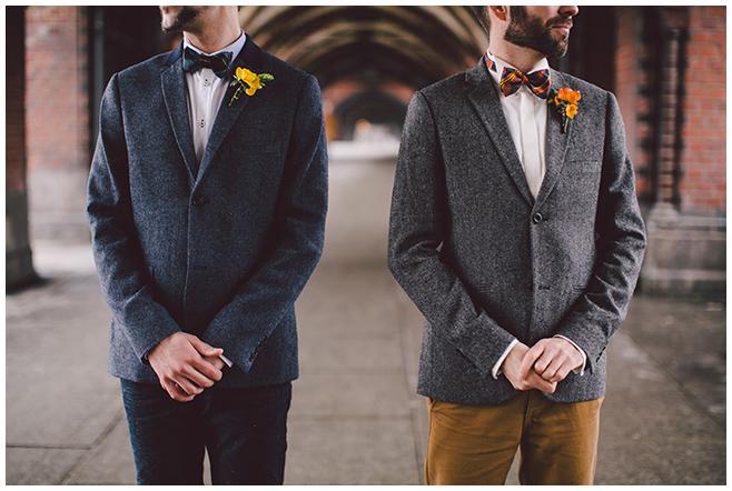 Paarfoto bei gleichgeschlechtlicher Hochzeit aufgenommen von professioneller Hochzeitsfotografin Berlin © Hochzeitsfotograf Berlin www.hochzeitslicht.de