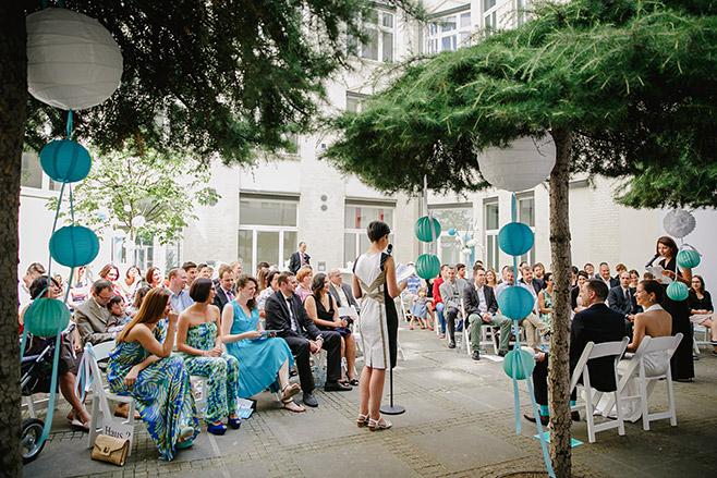 Hochzeit bzw. freie Trauung in Kunztschule Berlin-Mitte © Hochzeitsfotograf Berlin www.hochzeitslicht.de