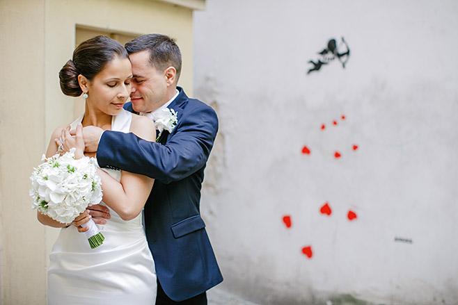 Professionelles Hochzeitsfoto von Brautpaar aufgenommen von hochzeitslicht-Fotografin © Hochzeitsfotograf Berlin www.hochzeitslicht.de