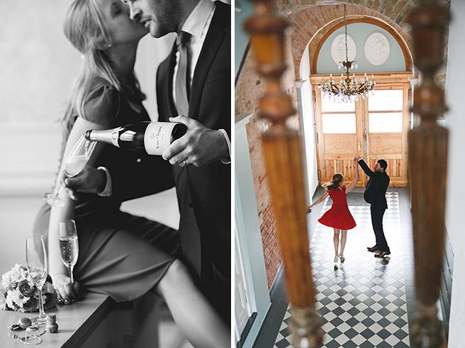 Hochzeitsfoto von Brautpaar nach Hochzeit im Standesamt Pankow © Hochzeitsfotograf Berlin www.hochzeitslicht.de