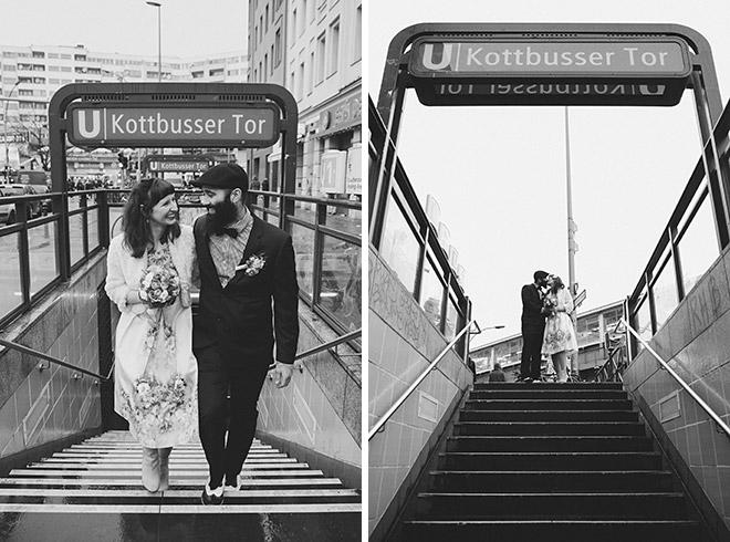 Moderne Hochzeitsfotografien von Brautpaar aufgenommen von professionellem Hochzeitsfotografen © Hochzeitsfotograf Berlin www.hochzeitslicht.de