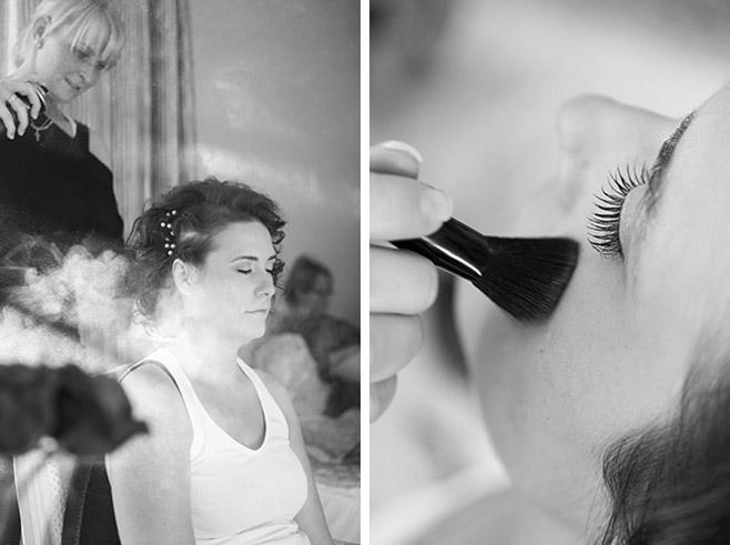 Hochzeitsfotoshooting bei den Vorbereitungen der Braut in Villa Contessa, Bad Saarow © Hochzeitsfotograf Berlin www.hochzeitslicht.de