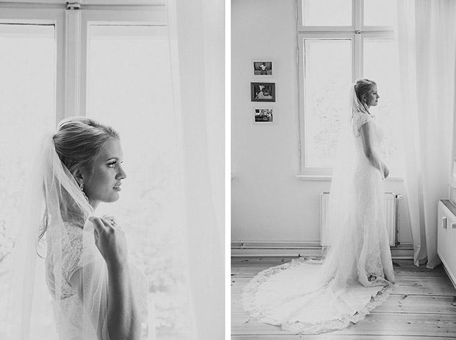 Hochzeitsportraits der Braut beim Getting Ready in Berlin © Hochzeitsfotograf Berlin www.hochzeitslicht.de