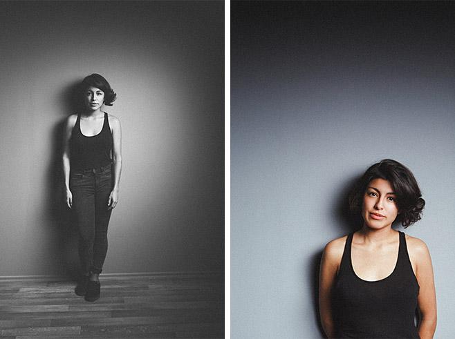 Portraitfotografien aufgenommen im Studio von professioneller Portrait-Fotografin © Fotostudio Berlin LUMENTIS