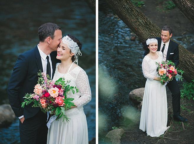 Brautpaarfotos bei Hochzeit im Boho-Chic © Hochzeitsfotograf Berlin www.hochzeitslicht.de