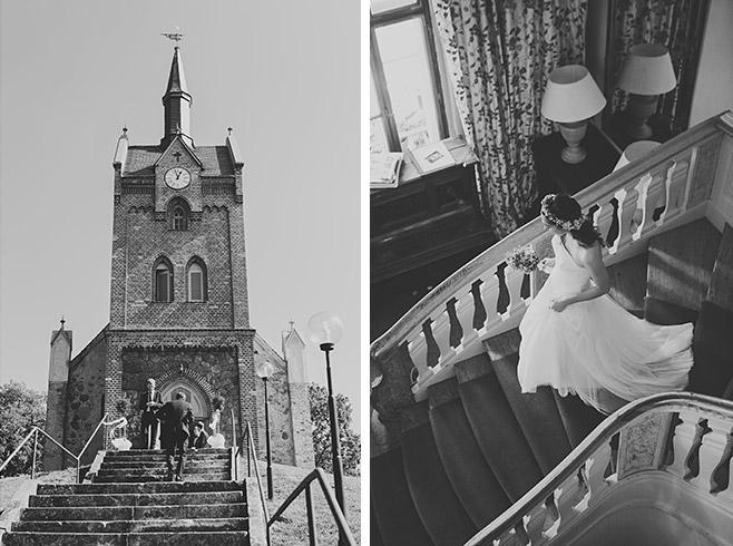 Hochzeitsfotos von Hochzeit in Feldsteinkirche Wulkow in der Nähe von Neuhardenberg und Haus Tornow © Hochzeitsfotograf Berlin www.hochzeitslicht.de