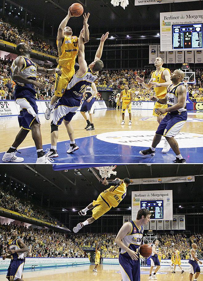 alba berlin basketball playoffs halbfinale gegen oldenburg spiel 1
