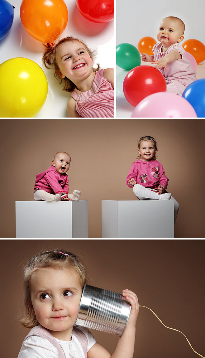 Kindershooting im Studio