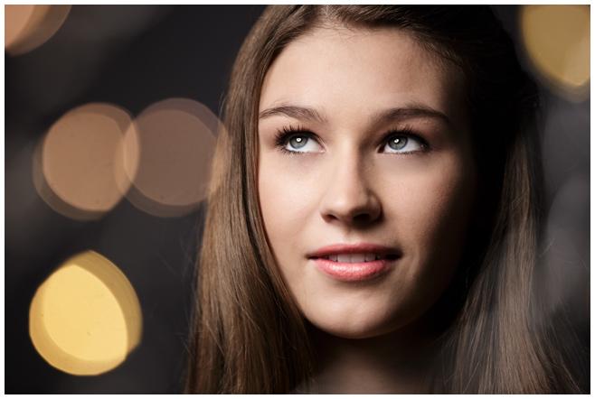 Portraitfoto junge Frau close up © Berliner Fotostudio LUMENTIS