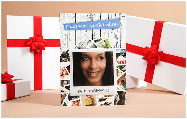 Geschenkgutschein von unserem Fotostudio LUMENTIS für Fotoshootings