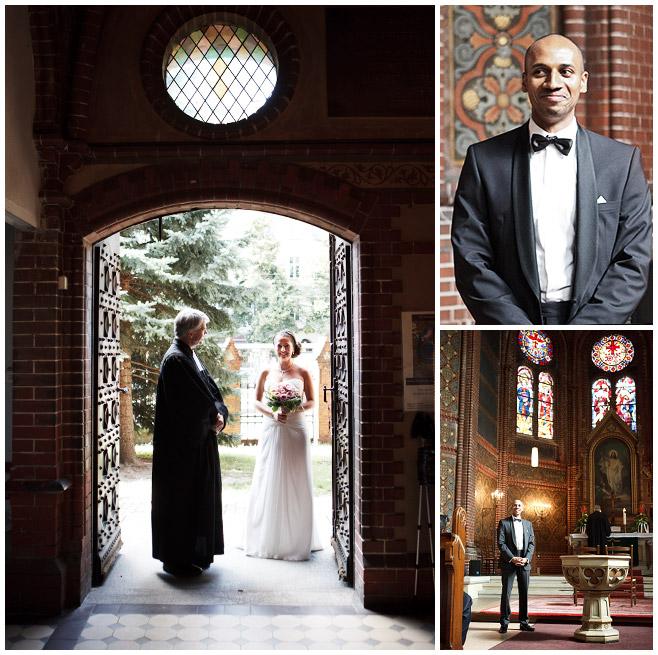 Hochzeitsfotos in der Immanuelkirche Berlin © Hochzeitsfotograf Berlin hochzeitslicht