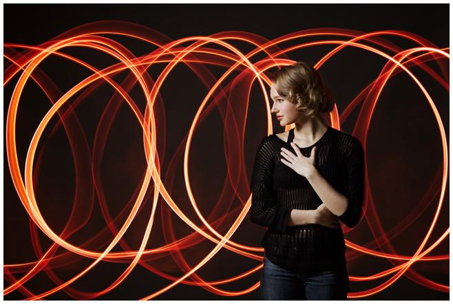 Portraitfotoshooting einer jungen Frau © Berliner Fotostudio LUMENTIS