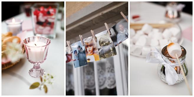 Fotos der Dekoration bei Vorfeier der Hochzeit in Schweiz © Hochzeitsfotograf Berlin hochzeitslicht