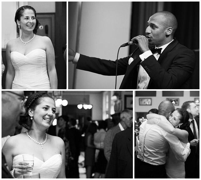 Hochzeitsfotos während Hochzeitsfeier im Queens 45 BC © Hochzeitsfotograf Berlin hochzeitslicht