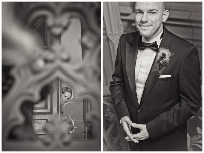 Brautpaar First Look auf Vintage Hochzeit © Hochzeitsfotograf Berlin hochzeitslicht