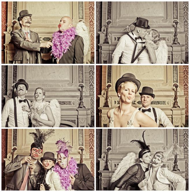 Hochzeitsfotos im Photobooth © Hochzeitsfotograf Berlin hochzeitslicht