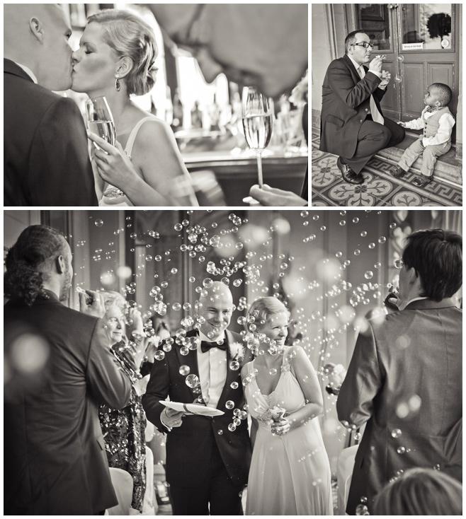 Ende der Hochzeits-Zeremonie auf Schloss Schadau © Hochzeitsfotograf Berlin hochzeitslicht